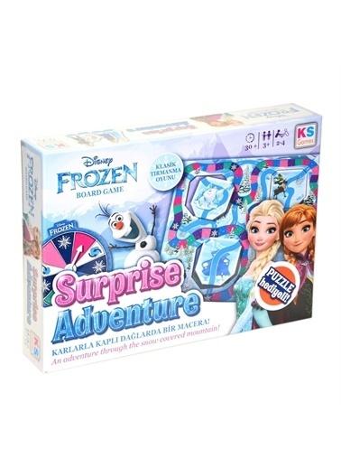 KS Puzzle KS Puzzle 10903 Frozen Surprise Adventure Oyun Seti Renkli